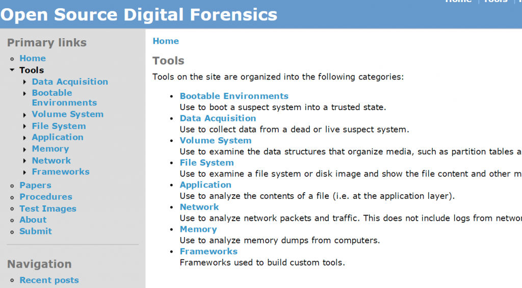 OpenSourceForensic