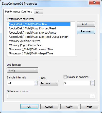 SQL Perf Counter Basics