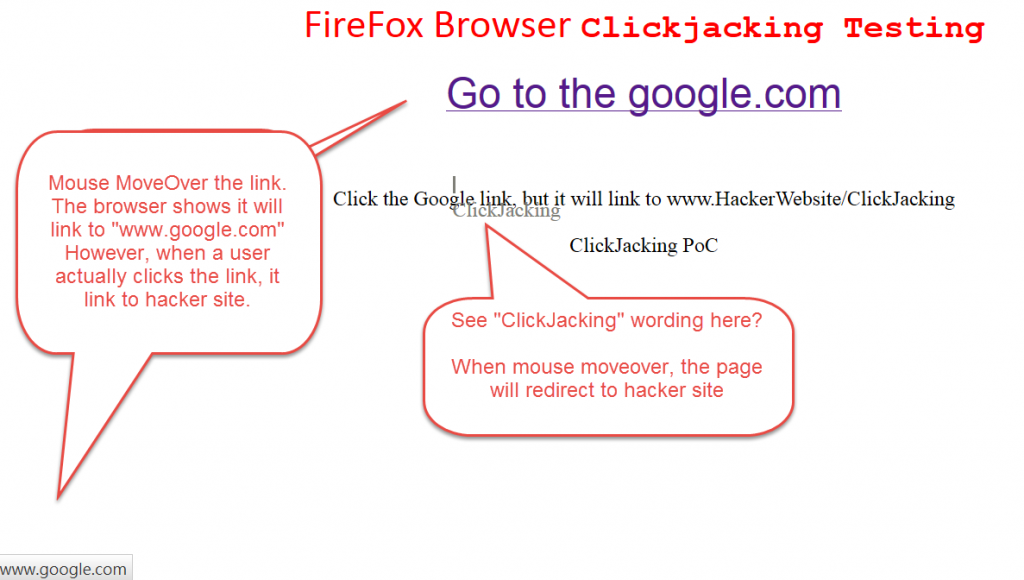 ClickJacking Testing