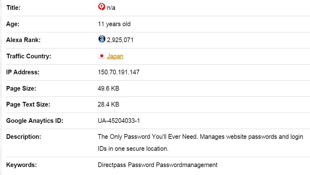 PasswordMgr